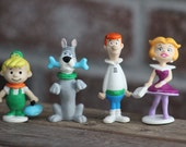 The Jetsons! George, Jane, Elroy, and Astro the dog!