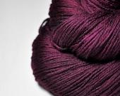 Burning red fuchsia - Merino Sport Yarn Machine Washable