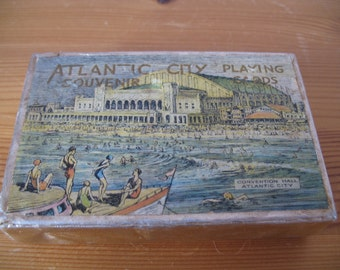 1920's Atlantic City Convention Hall Playing Card's, Complete