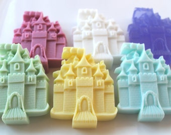 10 Princess Castle Soap Party Favors