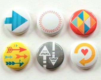 Arrows And Triangles Flair Badges