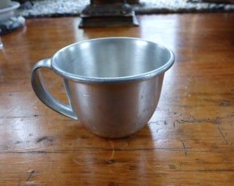 Vintage Woodbury Pewter, Small Mug, Heavy Pewter