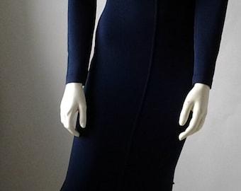 ALAÏA    Long dress late 80s