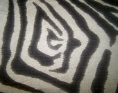 Zebra pillow cover, cushion in your choice of sizes, and color