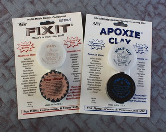 Aves Apoxie Clay or Fix It Adhesive Putty
