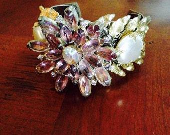 Vintage Inspired Cuff ... Vinatge Jewelry