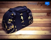 Bowler Bag with Pleather
