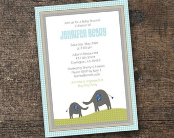 DIGITAL Brooks Baby Shower Party Suite •• PRINTING also available ••