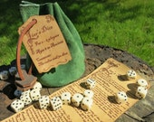 Liar's Dice game, Leather Pouch edition