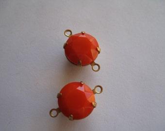 2- Orange Connectors