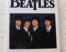 Vintage The Beatles Hardcover Book Bill Yenne 1989 John Paul George and Ringo Beatle Memorabilia Sgt Pepper Abbey Road Come Together