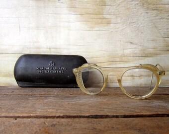 American Optical Eyeware - Safety Goggles with Original Case - Steampunk Eyewear MARKED DOWN 15%