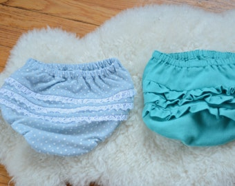Lacy or Ruffle Bottom Bloomers
