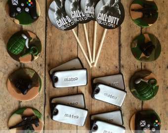 EDIBLE (Fondant Toppers) - Call of Duty: Black Ops