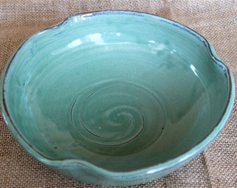 Ceramic bowl, Stoneware, Serving, Unique, wheel thrown, Pottery, made to order