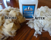 "Kookaburra Wool Wash, ""Scour,"" 16 oz, All Natural, Plant-Based Wool Scour, Fiber Wash, Mohair Wash, Eco-Friendly, Biodegradable Soap"