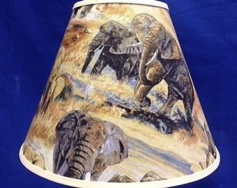 Elephant Lamp Shade African Animal Lampshade