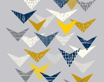 Grey Flock, open edition giclee print