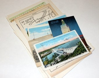 Missouri - United States Vintage Travel Collage Kit