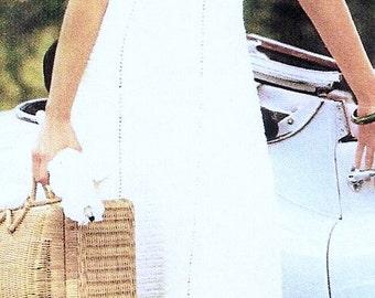 "Retro Crocheted ""Panama"" Dress - MADE TO ORDER"