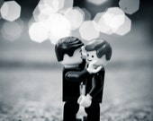 Lego Photograph - Male Embrace- Limited Edition Lego print no 14/125