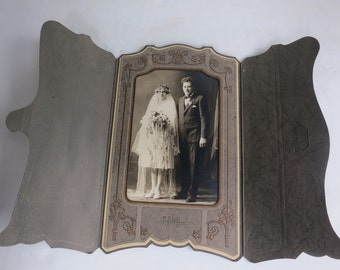 Antique Wedding Photograph - Early 1900's
