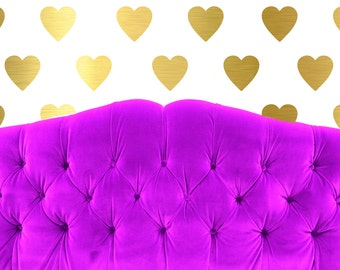 Heart Vinyl Wall Decals (Set of 30 heart decals) - Multiple sizes available - Wall Stickers