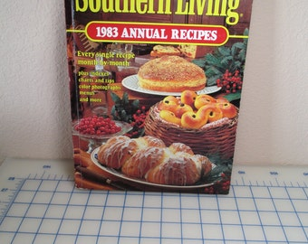 Vintage Southern Living 1983 Annual Recipe Cookbook -