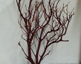 Manzanita Branches Natural Red 24 Inches