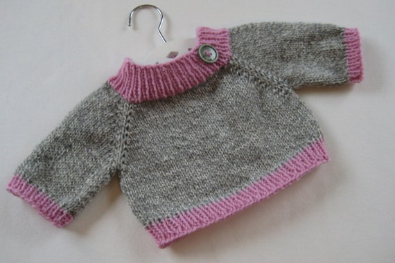 how to make simple sweater for baby