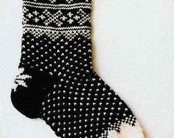 Norwegian Lusekofte Socks