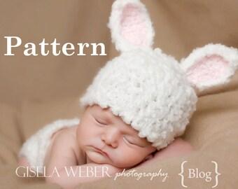 Newborn Hat, BABY Hat Pattern, Bunny Hat Pattern, Newborn Hat Pattern, Crochet Hat Pattern, SNASSY Crafter Original, REad Feedback