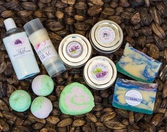 Lilac Gift Basket