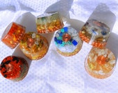 Individual Chakra Orgonite - featuring Chakra Specific Herbs and Stones - Choose Your Chakra - Open and Balance your Chakras