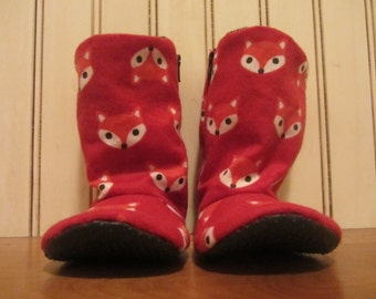 little red fox baby boots
