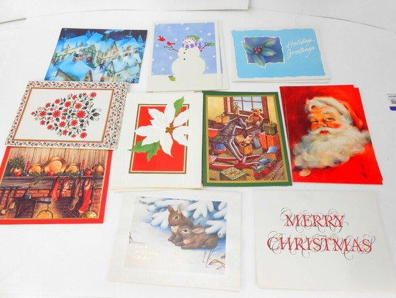 Boxed Vintage Christmas Cards Vintage Christmas Cards Boxed