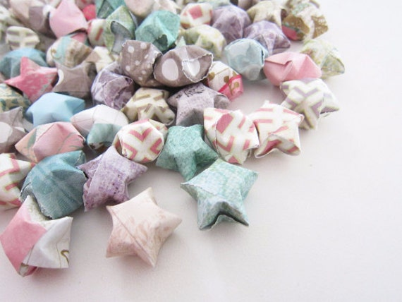 RESERVED 100 Ariel's Secret Grotto Origami Stars