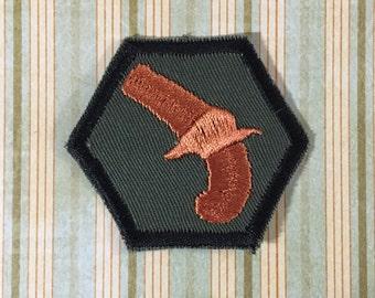STEAMPUNK Merit Badge - Blunderbuss Pistol Steampunk Scouts