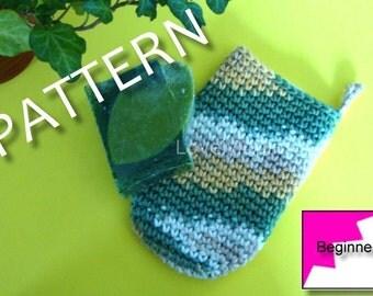 bath mitt, crochet pattern, beginner's pattern, handmade gift, crochet bath mitt, handmade gift