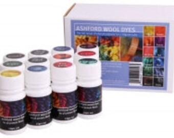 Wool Dye Collection by Ashford