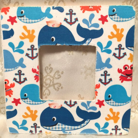 Items similar to whale nursery anchor nursery whale for Nautical nursery fabric