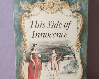 Vintage 1940's This Side of Innocence by Taylor Caldwell, 1946, Book Club edition, Victorian book, New York book, Christmas gift for mom