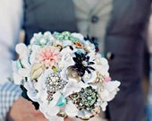 Vintage Brooch Bouquet and boutonniere