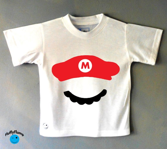 Mario Super Mario Kids T Shirt Retro Gamer By Fluffyflump