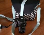 New-Camera bag-Digital SLR camera bag-Dslr camera case-purse-womens camera bag-Extra Bonus-Strap cover-Sweet Tiffany Kona AQUA