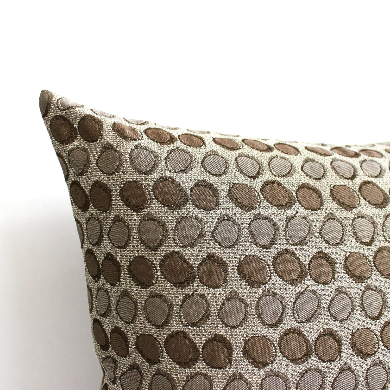 Lumbar Pillow Cover Beige Throw Pillow Cover Decorative Pillow
