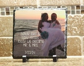 WEDDING PHOTO GIFTS-Personalized Photo Gifts-Wedding Gifts For Mom-Custom Granite signs for any phrase,sayings,pictures etc..