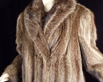 ON SALE .....Luxurious Gorgeous Full Length Mink Coat 1980's