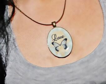 Hamsa necklace, Hamsa charm necklace, love charm necklace, love charm, love necklace, Hamsa charm, Hamsa butterfly charm