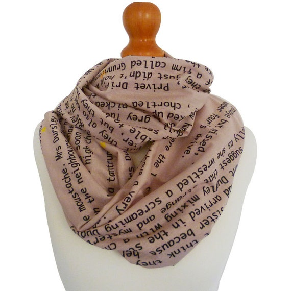 Harry Potter, The philosophers stone, Gift, Scarf, Geek scarf, Book, Rooby lane